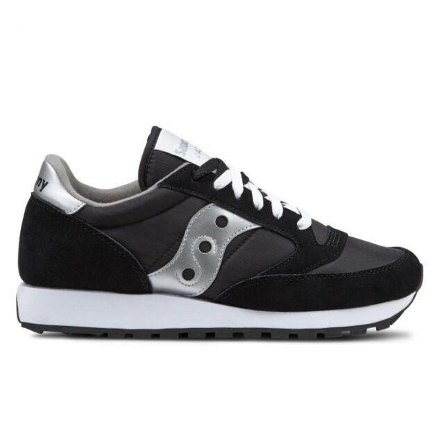 Scarpe da Donna Saucony Jazz Original 1044-1 Nero Argento Sneakers Sportiva 3d37755e0fe