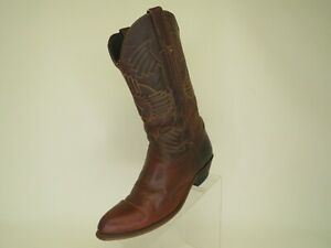DURANGO-Brown-Leather-Cowboy-Western-Boots-Womens-Size-9-M-Style-05124