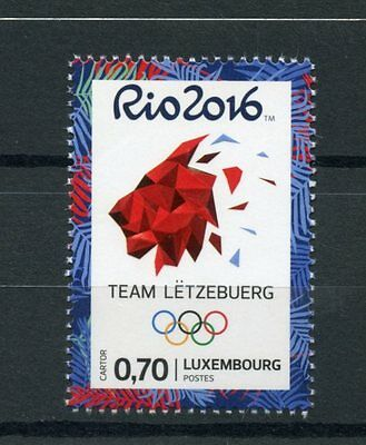 Onverdroten Luxembourg 2016 Mnh Olympic Summer Games Rio 2016 1v Set Olympics Stamps Duurzame Service