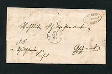 """Württ. - Postablage """"Gaildorf - Sulzbach A.K"""" auf Dienstbrief   (#1857)"""