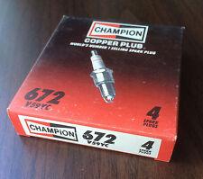 Champion V59YC 672   4-Pack Racing High Performance Spark Plugs NOS