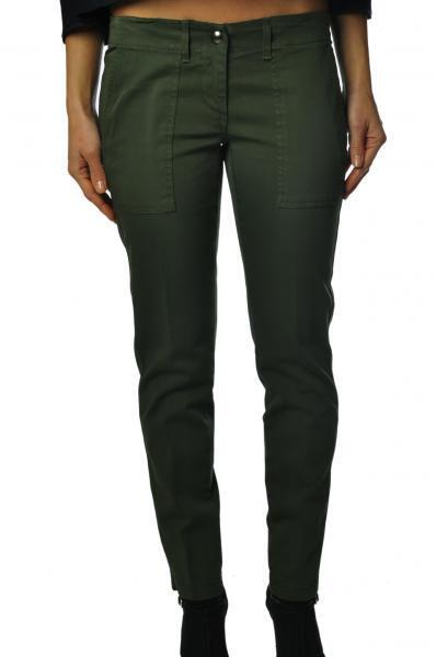 Dondup  -  Pants - Female - Green - 2165108A184906