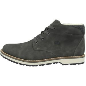 Details zu Rieker Eriwan Filz Schuhe Men Herren Antistress Winter Halbschuhe grey 39211 45