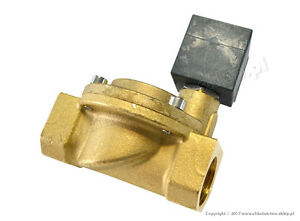 Solenoid-valve-CEME-8615-NC-3-4-034-10-bar-with-coil-230V-50Hz