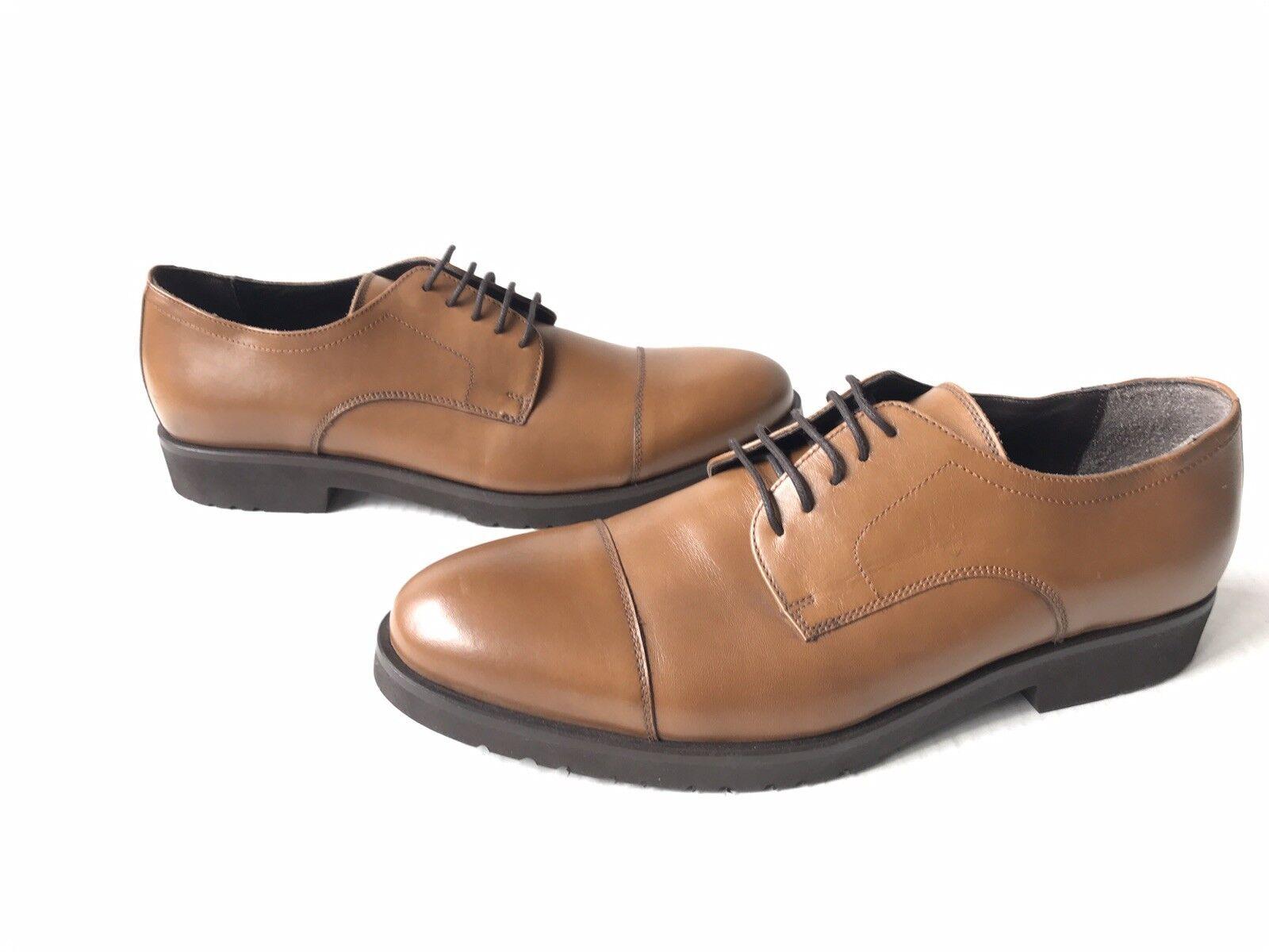 A.Testoni Cap Toe Derby. Size 10.
