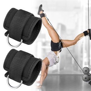 Sports & Entertainment New Sale Ankled-ring Anchor Strap Belt Multi Gymcable Attachment Thigh Leg Pulley Strap Lifting Fitness Exercise Training Equi