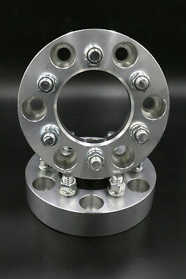 "5x5 aka 5x127 to 5x115 US Wheel Adapters 1/"" Thick 14x1.5 Studs 78.1mm Bore x 4"