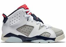 "Pre School Size Nike Air Jordan Retro 6 /""Alternate/"" Athletic Fashion 384666 113"