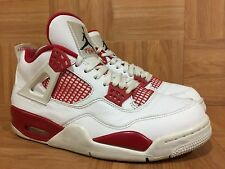 fbbb89902719d0 item 2 RARE🔥 Nike Air Jordan 4 IV Retro Alternate  89 S 8.5 White Black Red  308497-106 -RARE🔥 Nike Air Jordan 4 IV Retro Alternate  89 S 8.5 White  Black ...
