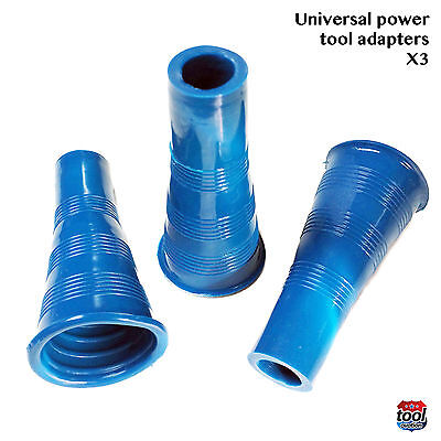 Universal Vacuum connectors - Ideal for power tool connections - pack of 3