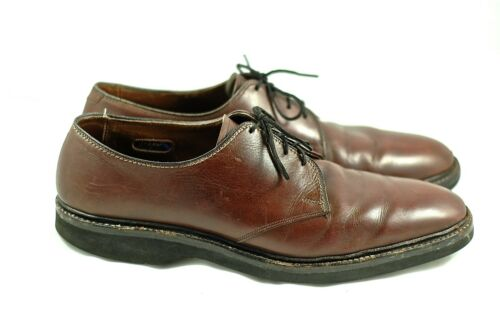 Globetrotter B maat Brown 11 Allen Edmonds Vintage schoenen veter Oxfords luJ15cT3FK