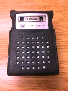 Vintage 8 TRANSISTOR RADIO in Case*** WESTINGHOUSE *** 6428a Tested