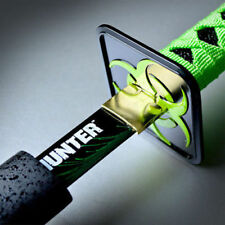 ZOMBIE HUNTER GREEN Katana NINJA SAMURAI Sword BIOHAZARD TSUBA Carbon Steel NEW