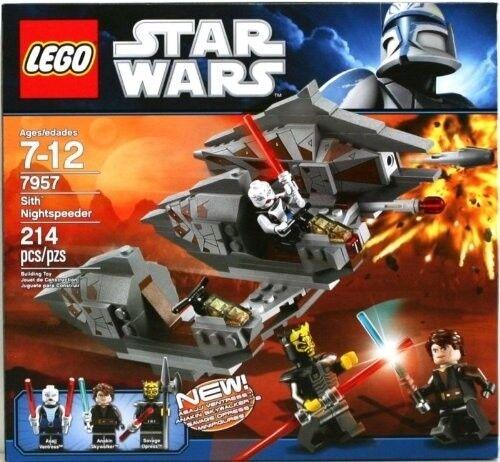 LEGO - Star Wars - 7957 - SITH NIGHTSPEEDER ASAJJ - OPRESS - DISPLAYED ONLY