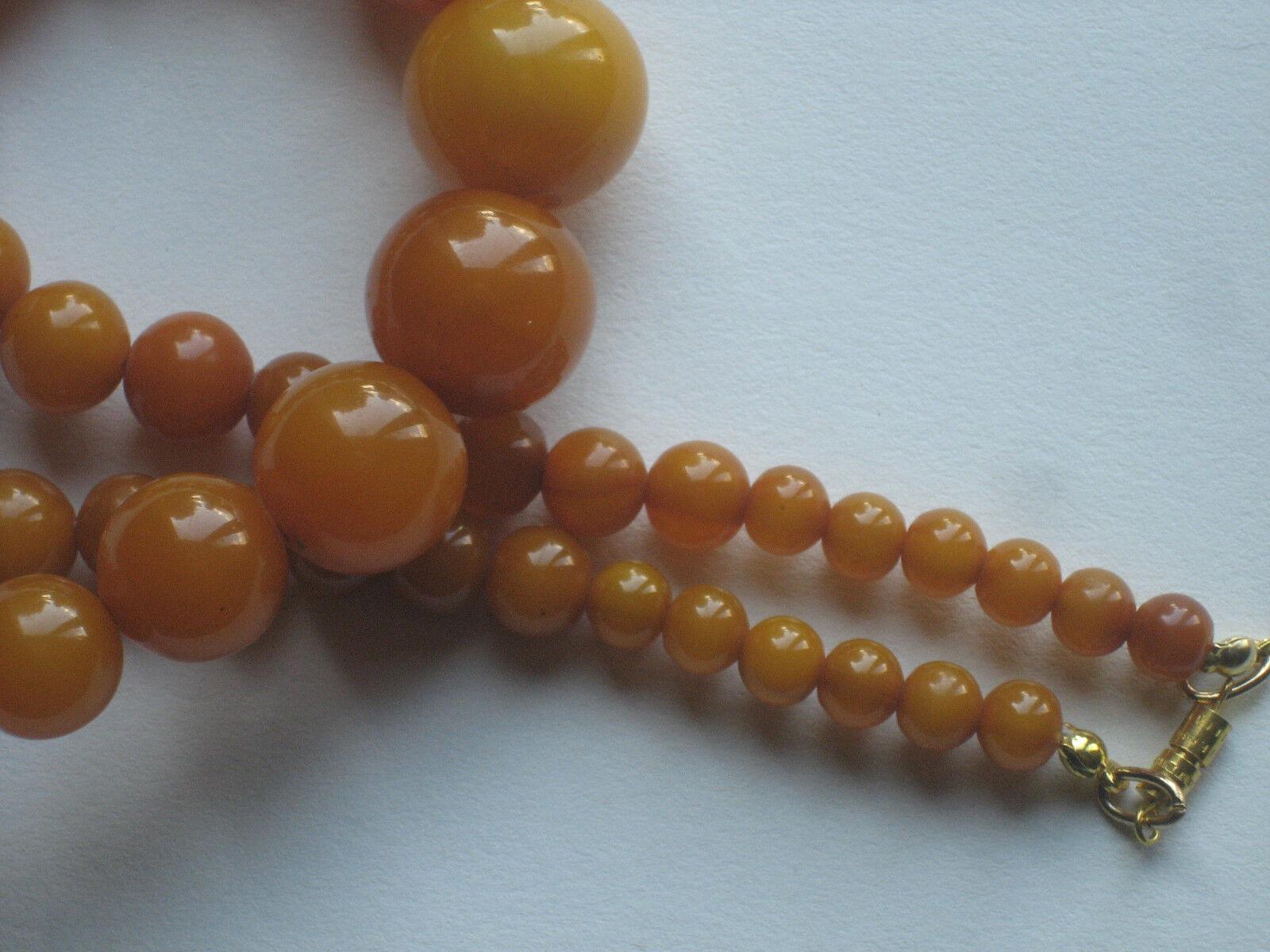 Collier bakélite perles rondes N°5 N°5 N°5 poids 50 grammes années 40 50 c83d11