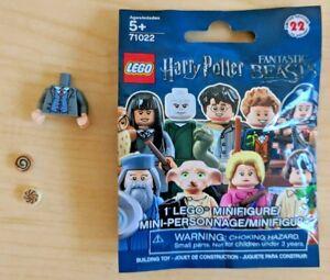 LEGO SET 71022 POLYBAG FIGURINE MINIFIG HARRY POTTER N° 19 JAKOB KOWALSKI