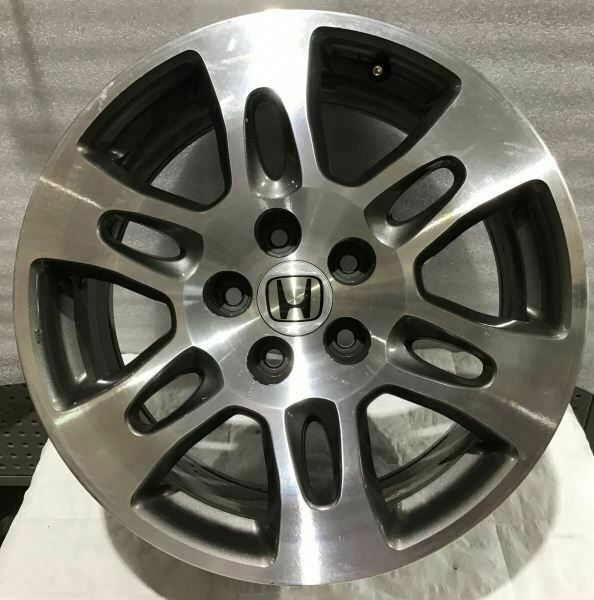 "2007 2008 2009 Acura MDX 18"" Wheel 71759 Rim Grey Machined"