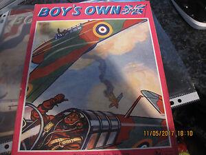 BOYS-OWN-COMICS-MAGAZINES-1941-X2-GC
