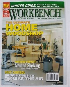 Awesome Details About Workbench Magazine 279 Ultimate Home Woodshop Customarchery Wood Chair Design Ideas Customarcherynet