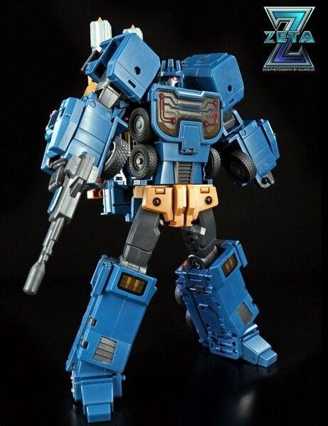Nuevo Zeta Juguetes Transformers ZA-03 Armageddon Blitzkrieg ataque figura En Stock