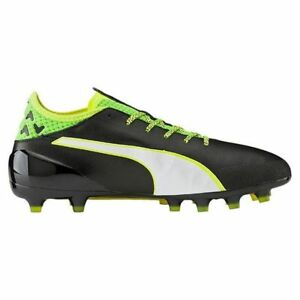 83fbbd443 Image is loading Puma-EvoTOUCH-2-AG-Mens-Football-Boots-Black-