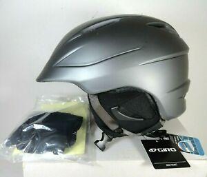Giro-Seam-Snow-Sports-Helmet-Adult-Size-L-Matte-Pewter-Ski-Snowboard