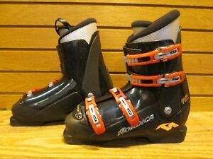 Kids Youth Jr's Nordica GP TJ Used Ski Boots 26.5 Mondo - Lot BC14