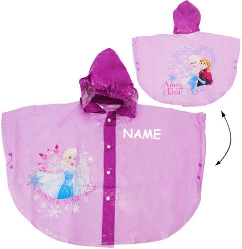 "c 110-152 Frozen /"" Regencape // Regenponcho Gr /"" Disney die Eiskönigin"