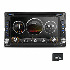 doppel 2 din autoradio 6 2 touchscreen usb sd dvd player. Black Bedroom Furniture Sets. Home Design Ideas