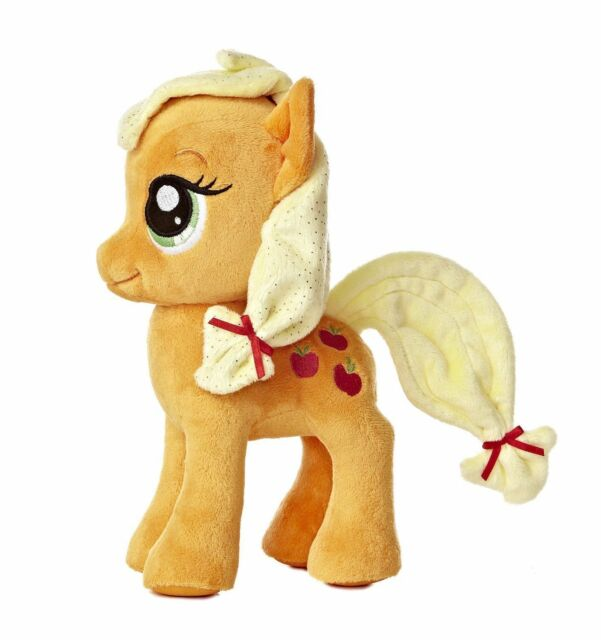 2c940964689 My Little Pony Friendship Is Magic Applejack Stuffed Animal Plush Aurora  15533 for sale online