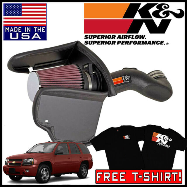 K/&N 57-2543 Performance Air Intake System