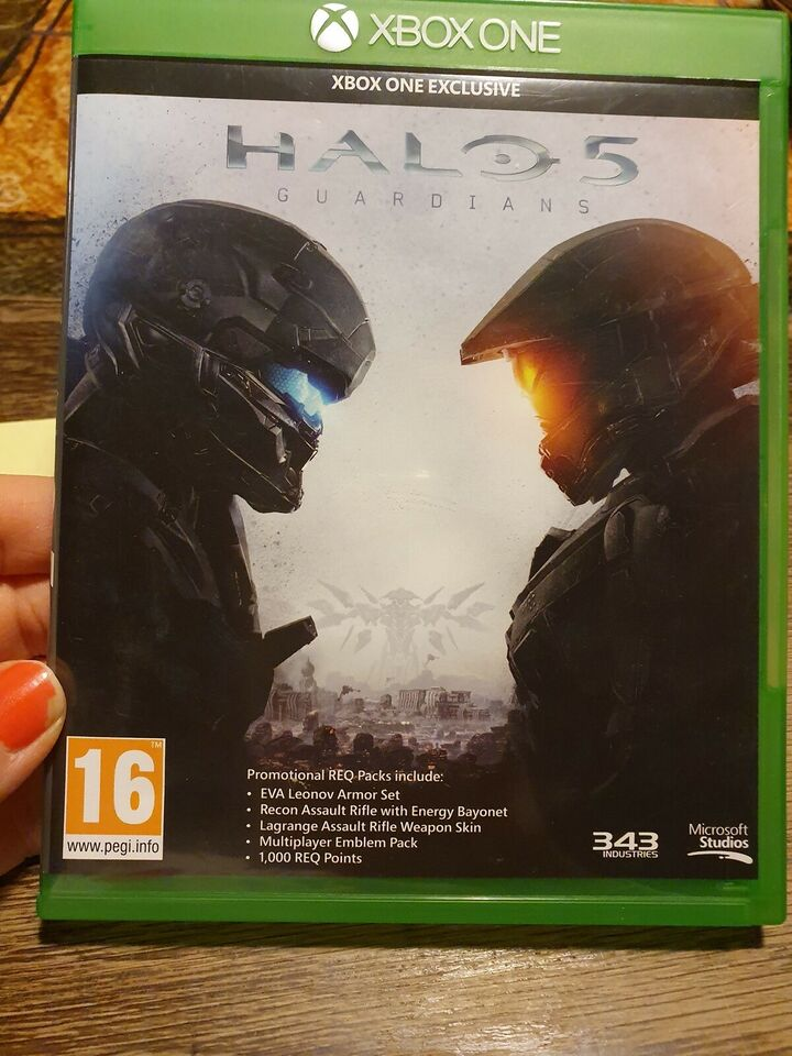 Halo 5 Guardians, Xbox One, action