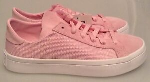 reputable site 862c7 2b7d1 Image is loading ADIDAS-COURT-VANTAGE-TRAINERS-CQ2618-PINK-WOMEN-039-