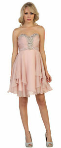 Details about SALE ! GRADUATION PROM HOMECOMING SHORT BIRTHDAY SEMI FORMAL  DRESSES & PLUS SIZE