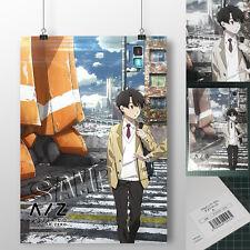 Aldnoah Zero A Inaho Kaizuka A3 Desk Mat Anime Slaps Japan Limited