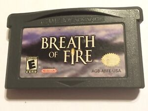 NINTENDO-GAME-BOY-ADVANCE-SP-DS-MICRO-GAME-CARTRIDGE-BREATH-OF-FIRE