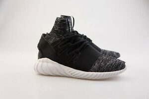 0 Adidas Men Tubular Doom Primeknit black granite vintage white BB2392