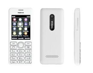 Nokia 206 En Blanc Portable Dummy - Accessoires, Déco, Exposition, Motif à Tout Prix