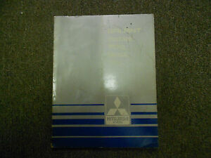 1985 MITSUBISHI Galant Electrical Wiring Service Repair Shop Manual FACTORY OEM