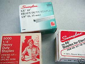 New-3-lg-boxes-Staples-1-4-034-standard-w-warranty