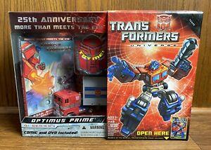 Optimus-Prime-Transformers-G1-Series-25th-Anniversary-Action-Figure-New-NIB-2009