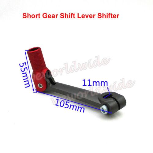 Short Gear Shift Lever For 50cc-160cc 250cc Pit Dirt CRF50 70 Thumpstar SSR SDG