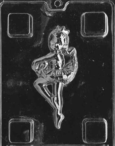 K013 Ballerina Chocolate Candy Soap Molds with Instructions