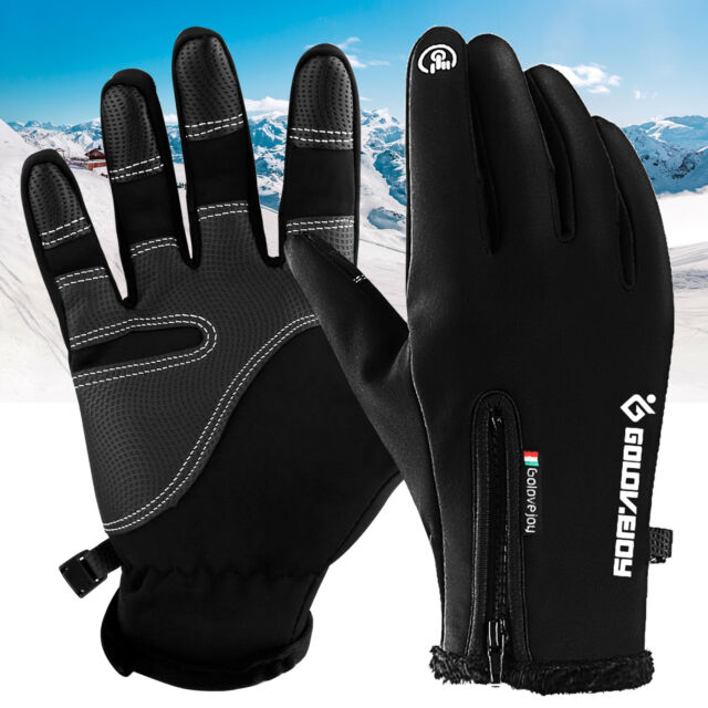 RIGWARL Winter Touch Screen Cycling Skiing Spotrs Gloves Black Size Small NEW!