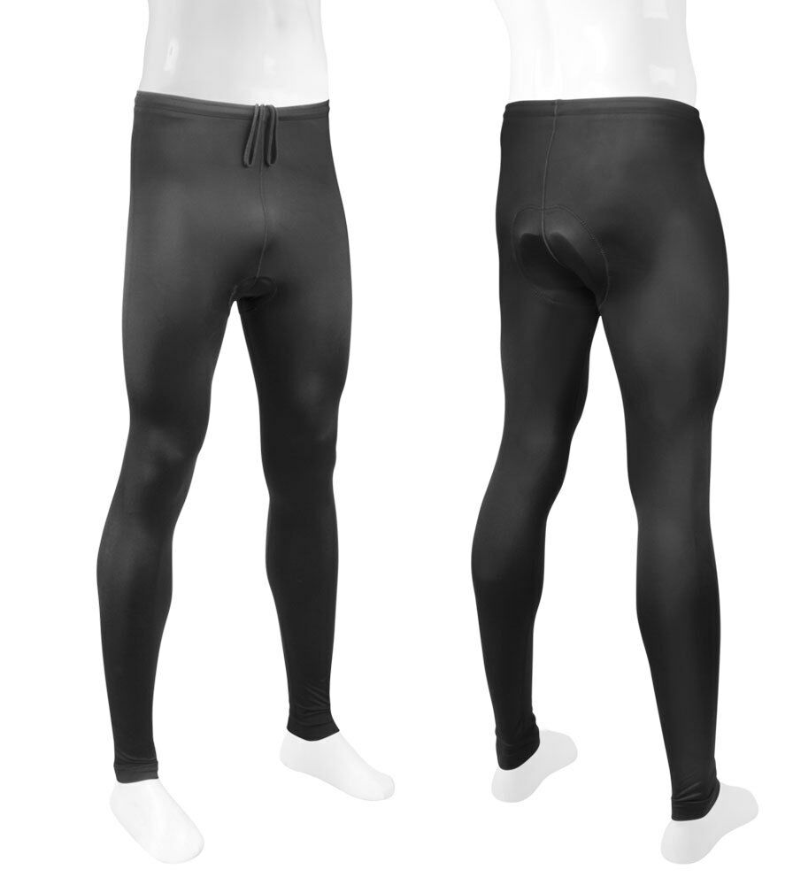 Aero Tech Designs TALL Mens Padded Bike Tights Cycling Leggings Made in USA