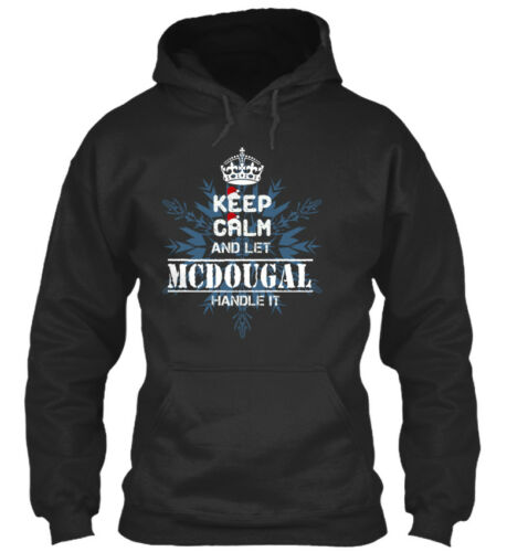 Mcdougal Keep Calm And Let Handle It Standard College Hoodie