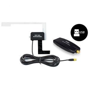 usb durable digital dab radio tuner stick empf nger fits. Black Bedroom Furniture Sets. Home Design Ideas