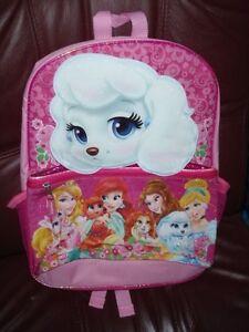 1b6ce74fdf2 Image is loading Disney-Princess-PALACE-Pets-3D-PUMPKIN-Backpack-LARGE-