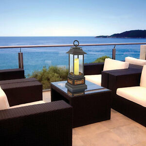 Electric Patio Table Heater Led Light Lantern Candle