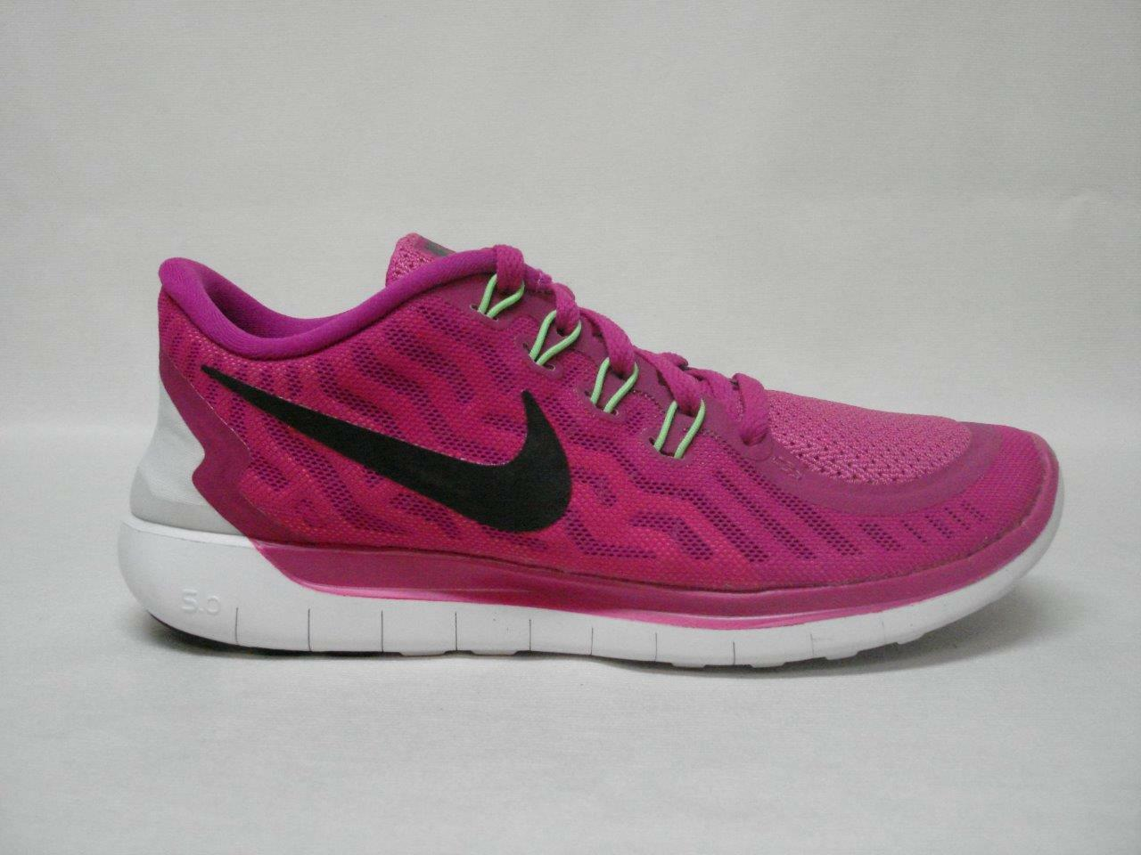 1b6c68af94e6 NIB NIB NIB NIKE FREE 5.0 WOMEN S RUNNING SHOE S 7 FUCHSIA FLASH AWESOME  SHOES 8155c2